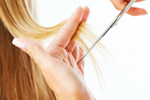 Schneiden bei Haarausfall