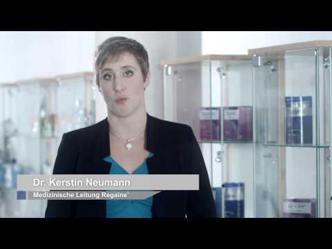 """=""""Haarverlust in Zahlen: Wer bekommt Haarausfall? Dr. Kerstin Neumann von REGAINE®"""