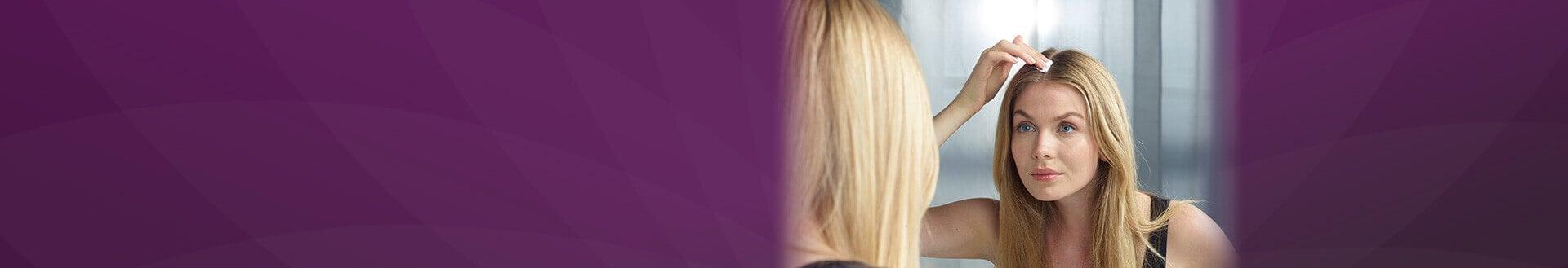 Anwendung Regaine® Frauen Schaum