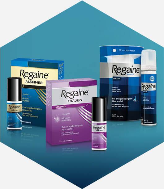 REGAINE® Produktübersicht